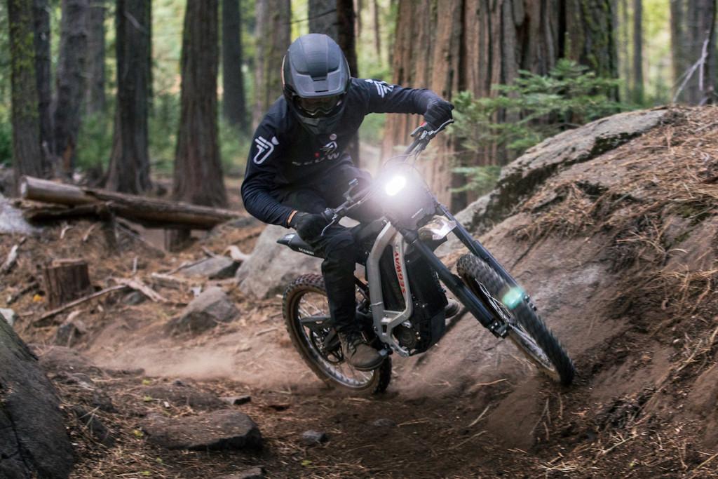 Moto-cross électrique Segway