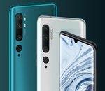 Xiaomi lance le Mi Note 10 : un flagship dédié à la photo à partir de 549€