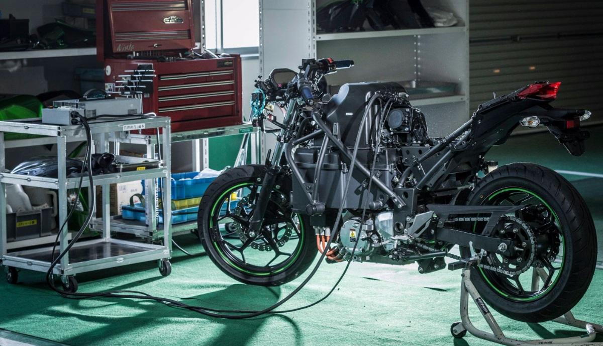 Kawasaki moto électrique