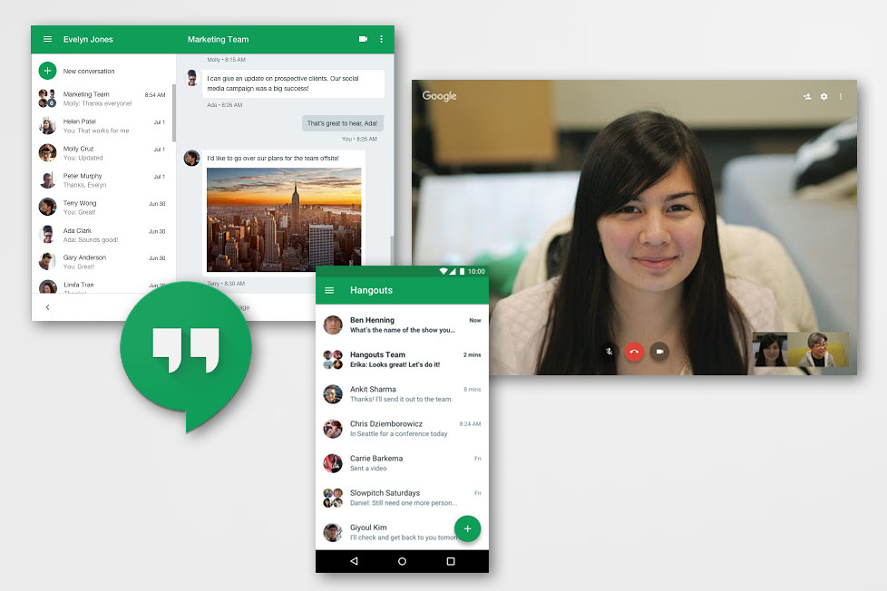 Google Hangouts © Google