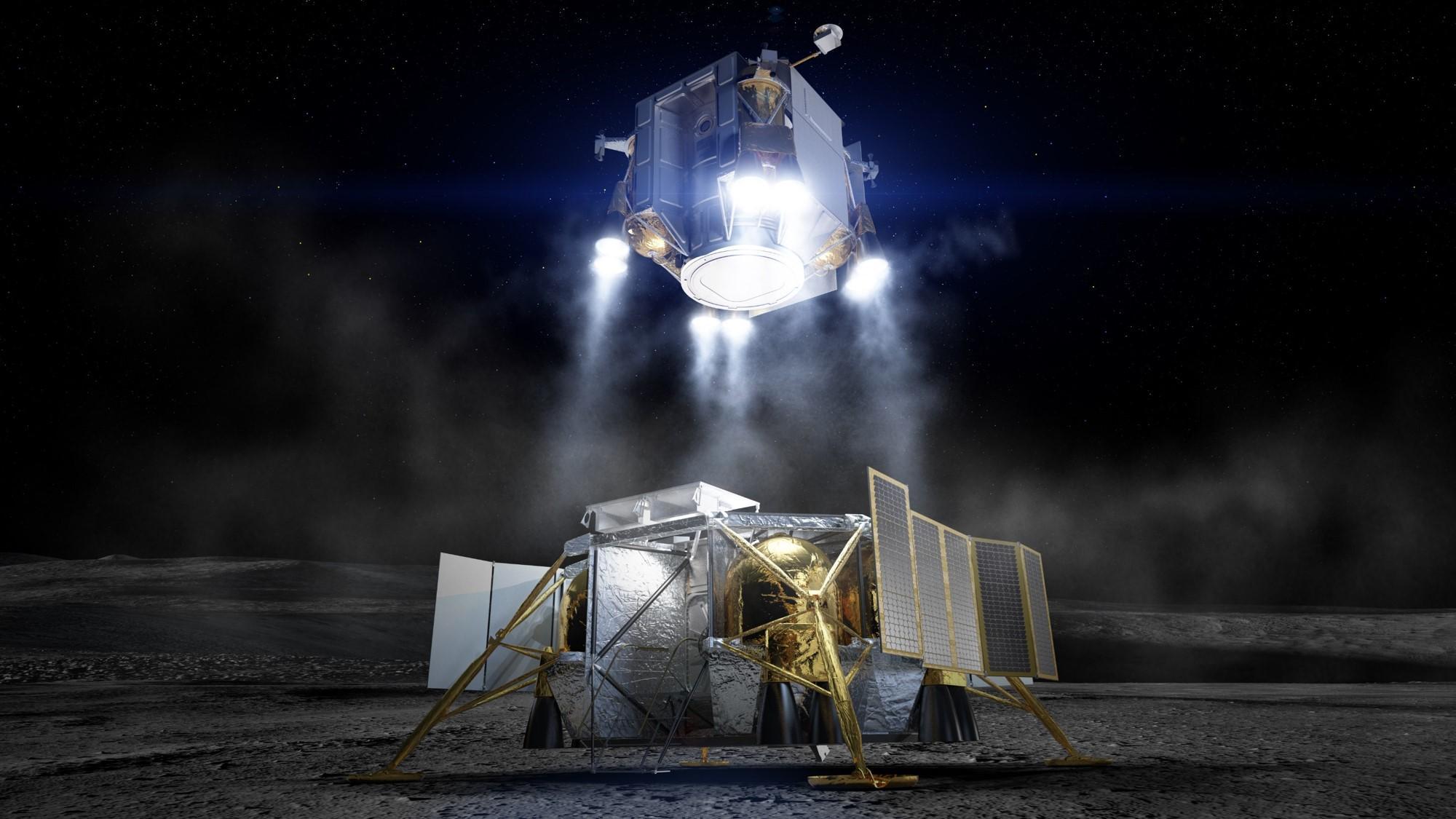 Programme Artemis : Boeing a présenté son prototype d'atterrisseur lunaire à la NASA