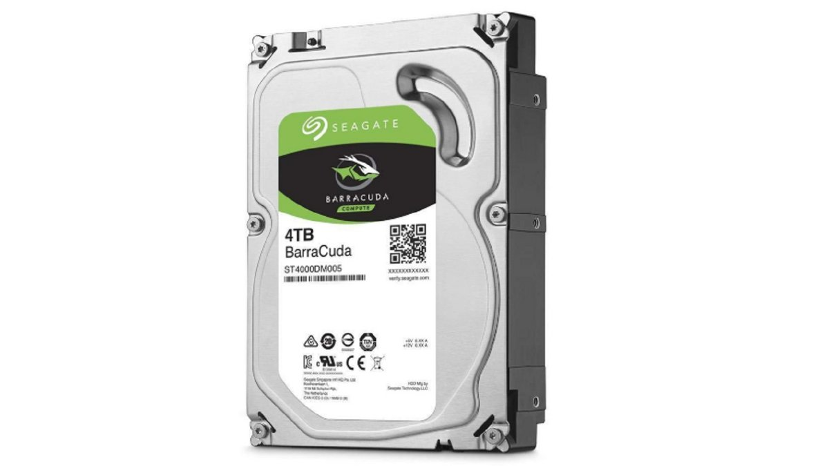 Disque dur interne Seagate 4 To