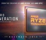 AMD annonce officiellement ses nouveaux Threadrippers 3960X et 3970X à 24 et 32 cœurs