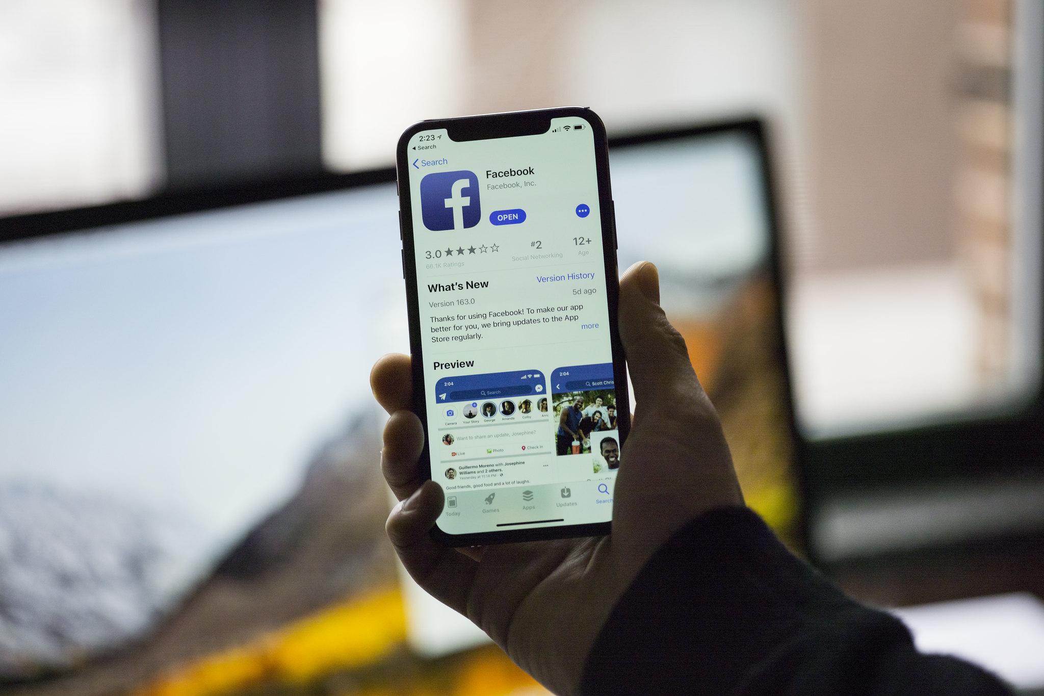 L'app iOS de Facebook utilise la caméra quand vous naviguez dans le fil d'actualité