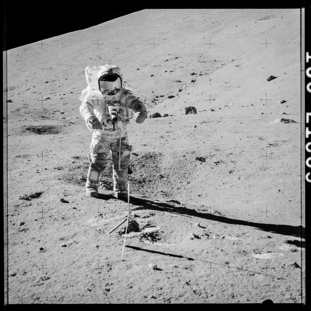 Apollo 17 échantillon © NASA