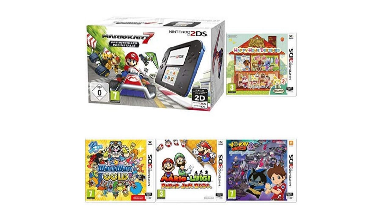 Pack 2DS Amazon