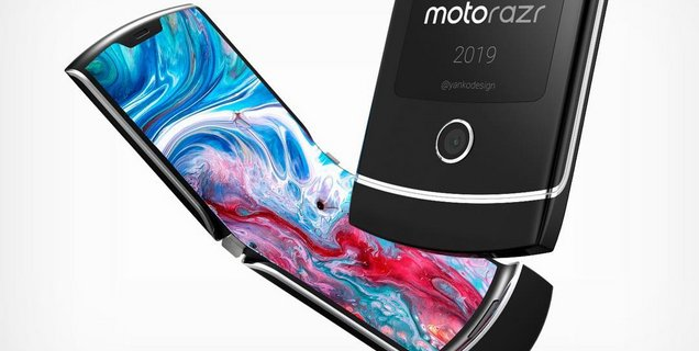 Le nouveau Motorola Razr, smartphone pliable à clapet, se montre enfin !