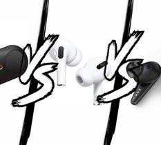 Airpods Pro VS Sony WF-1000Xm3 VS Libratone Track Air+ : Quel est le meilleur True Wireless avec ANC ?