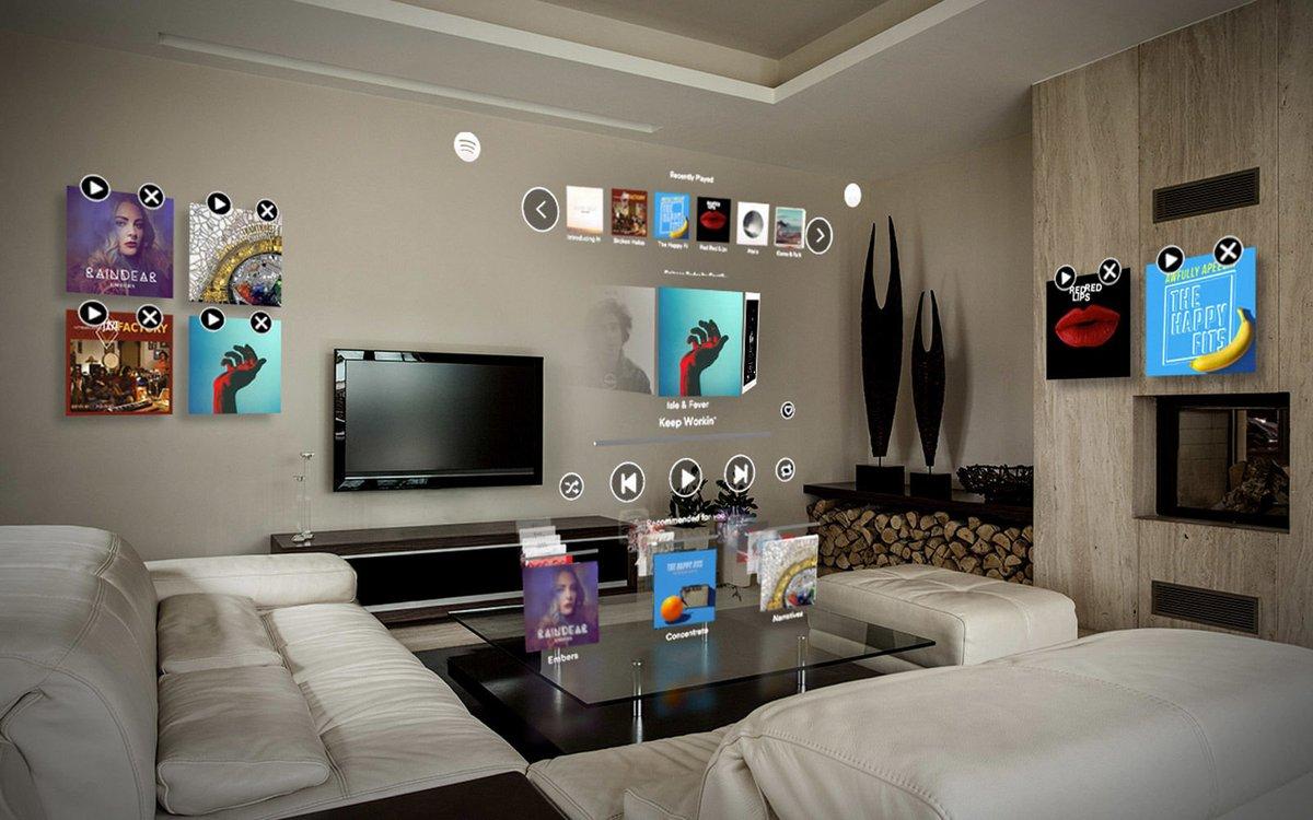 Spotify réalité augmentée Magic Leap