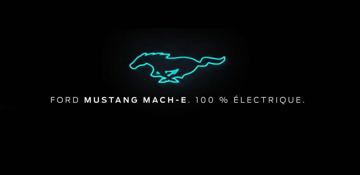 Ford Mustang Mach-e teasing
