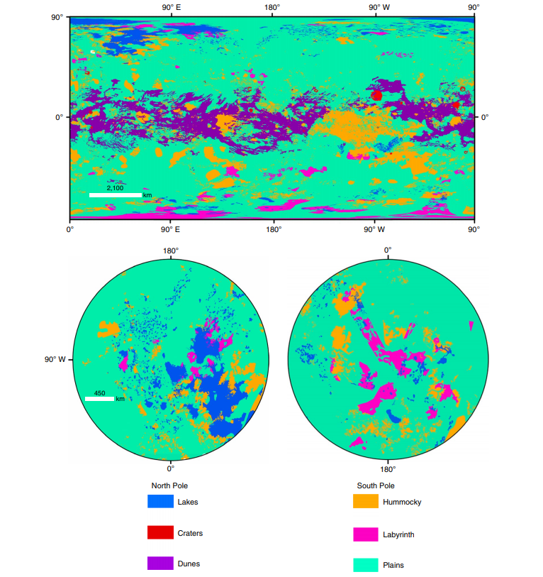Titan Geomorphic Map 1
