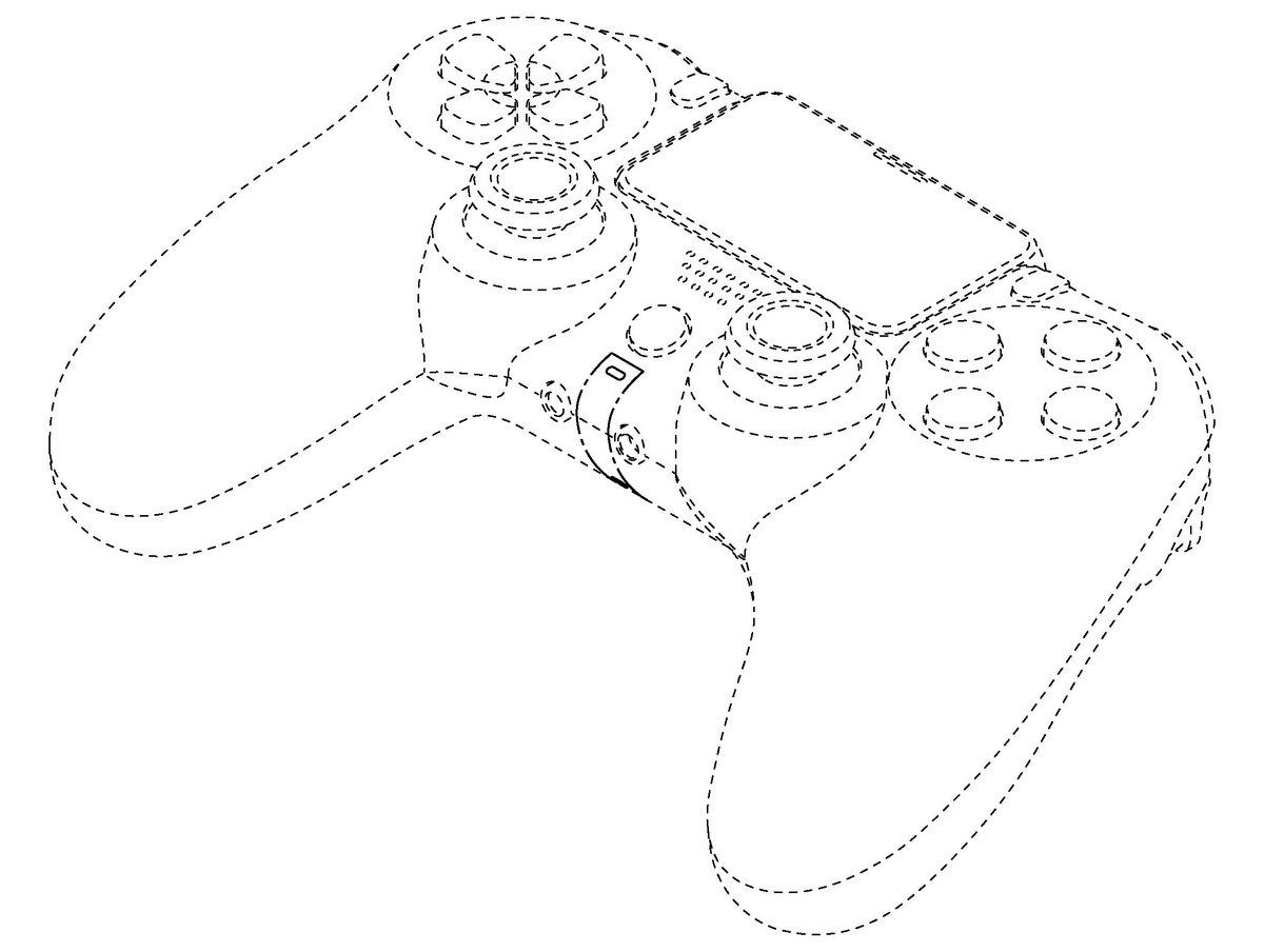 Manette PS5 brevet