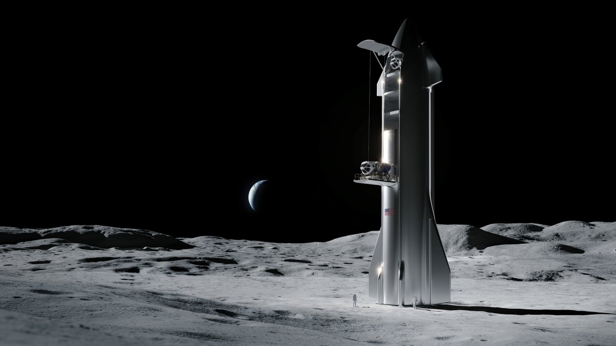 Starship CLPS © SpaceX