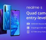 Le Realme 5 disponible en Europe dès le 21 novembre
