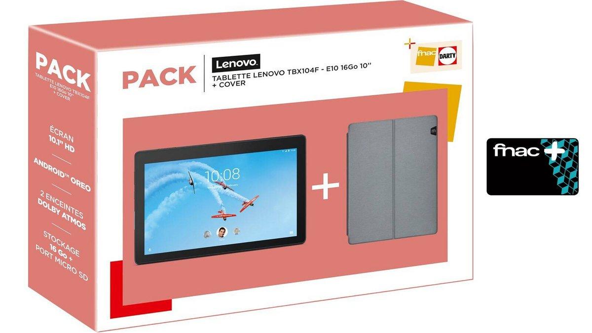 Tablette Lenovo Tab TBX104F housse et carte fnac plus.jpg
