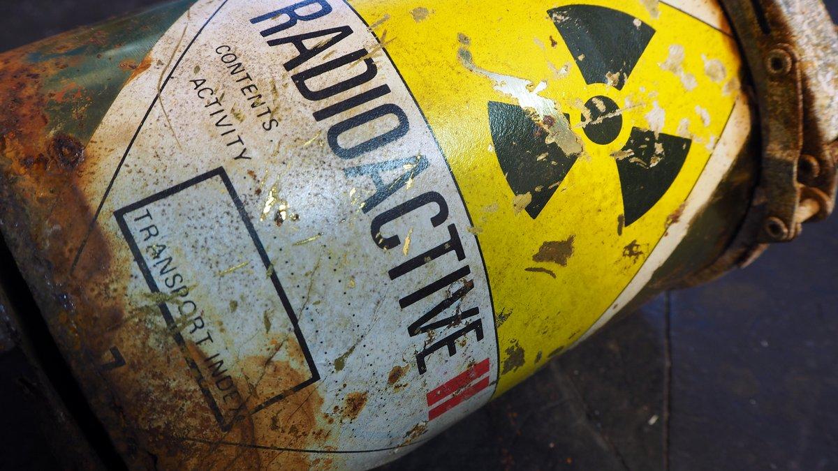 Conteneur radioactif