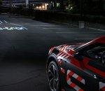LA Auto Show - Audi en met plein la vue avec ses phares LED à matrice numérique