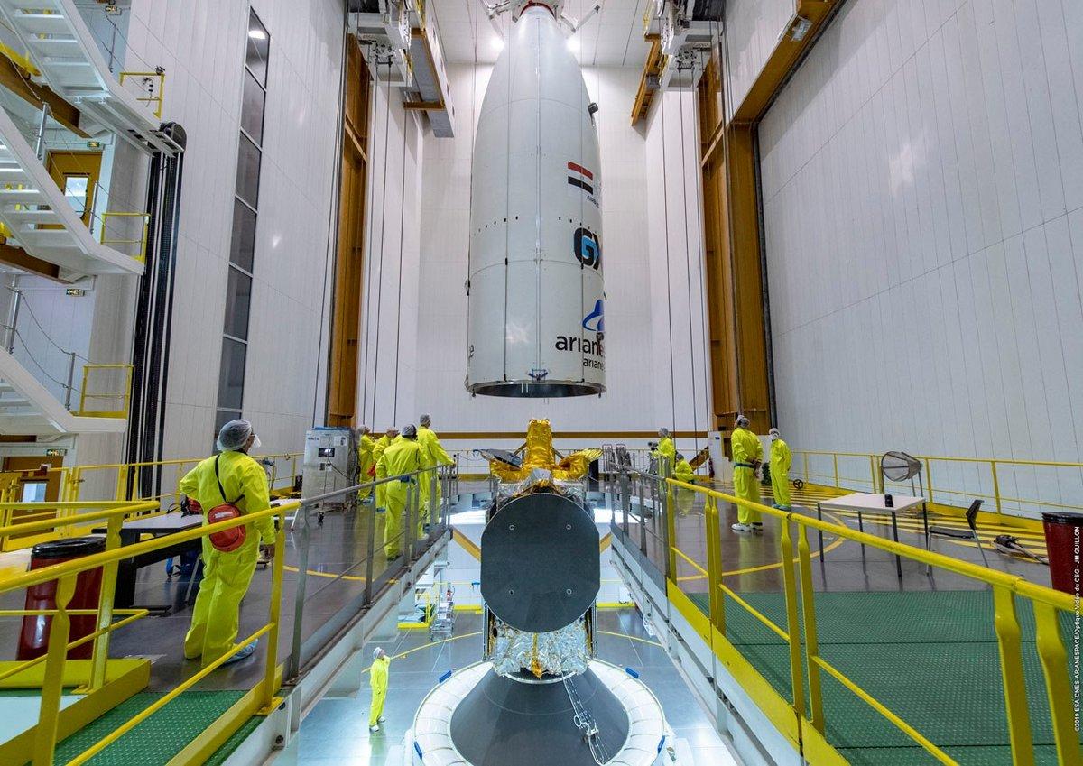 Ariane 5 coiffe