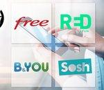 Black Friday 2019 : les meilleures promos sur les forfaits mobiles 4G RED, Free, B&You et Sosh