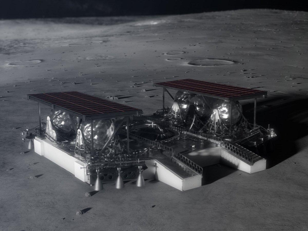 lunaire atterrisseur NASA