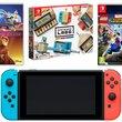 Console Nintendo Switch avec 3 jeux