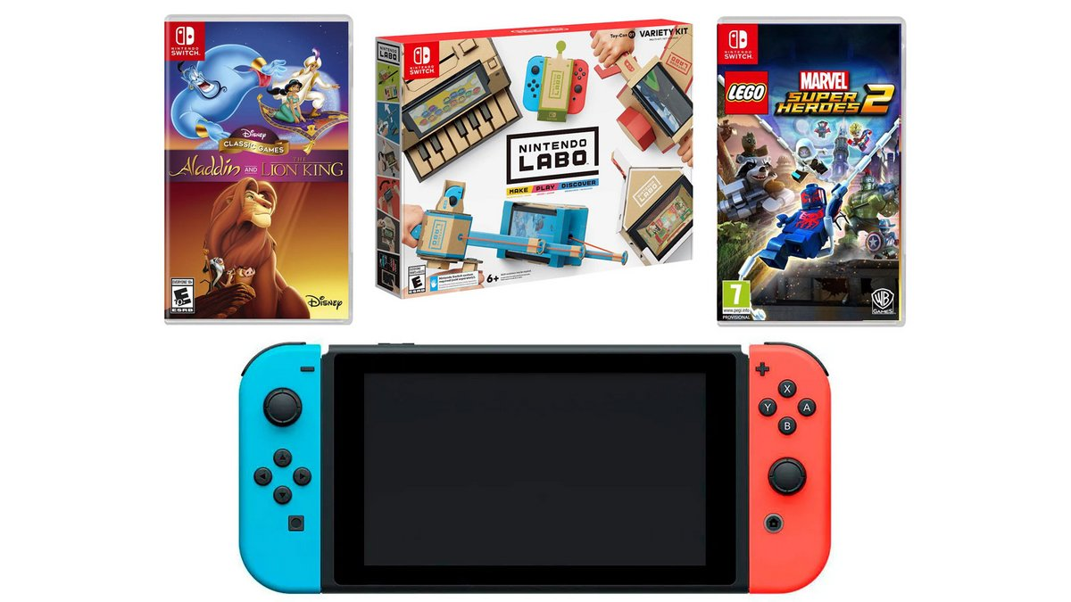 Nintendo Switch Fnac Pack
