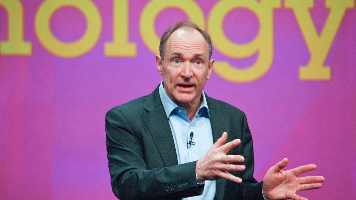 Tim Berners Lee © drserg / Shutterstock.com