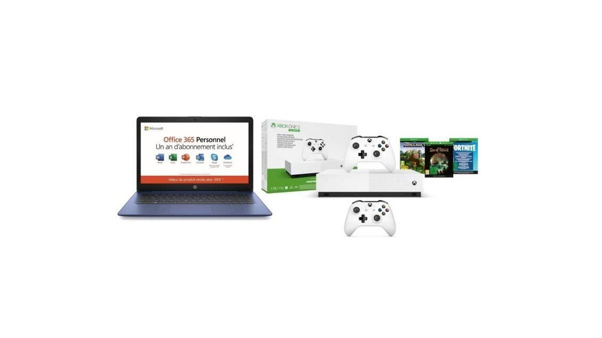 Xbox + PC HP bp