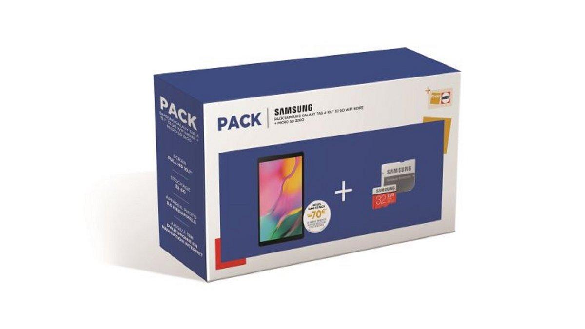 Pack Samsung Galaxy Tab A Fnac
