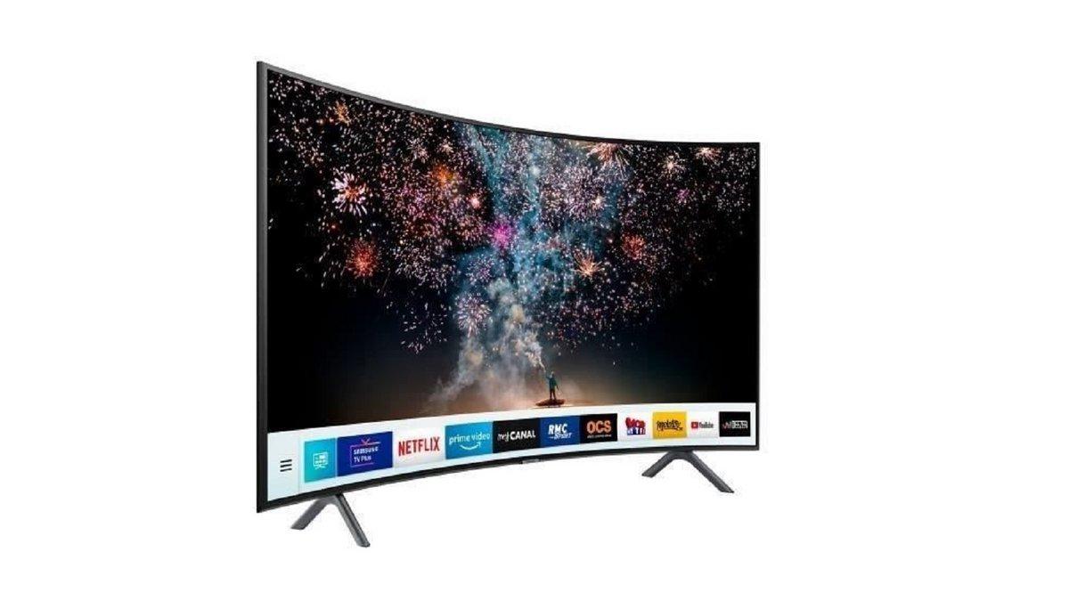 TV écran incurvé Samsung