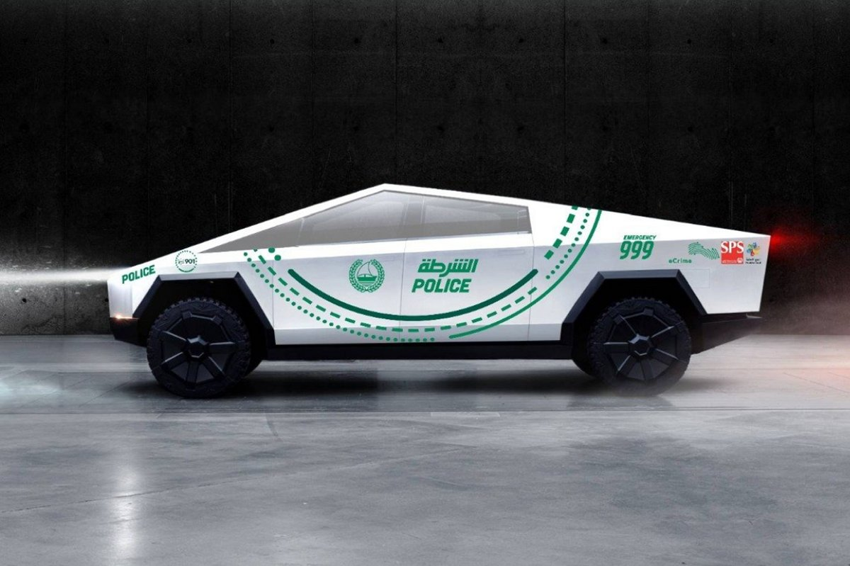 Tesla Cybertruck Dubai