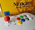 Test Neo Geo Arcade Stick Pro : que vaut la console/stick arcade de chez SNK ?