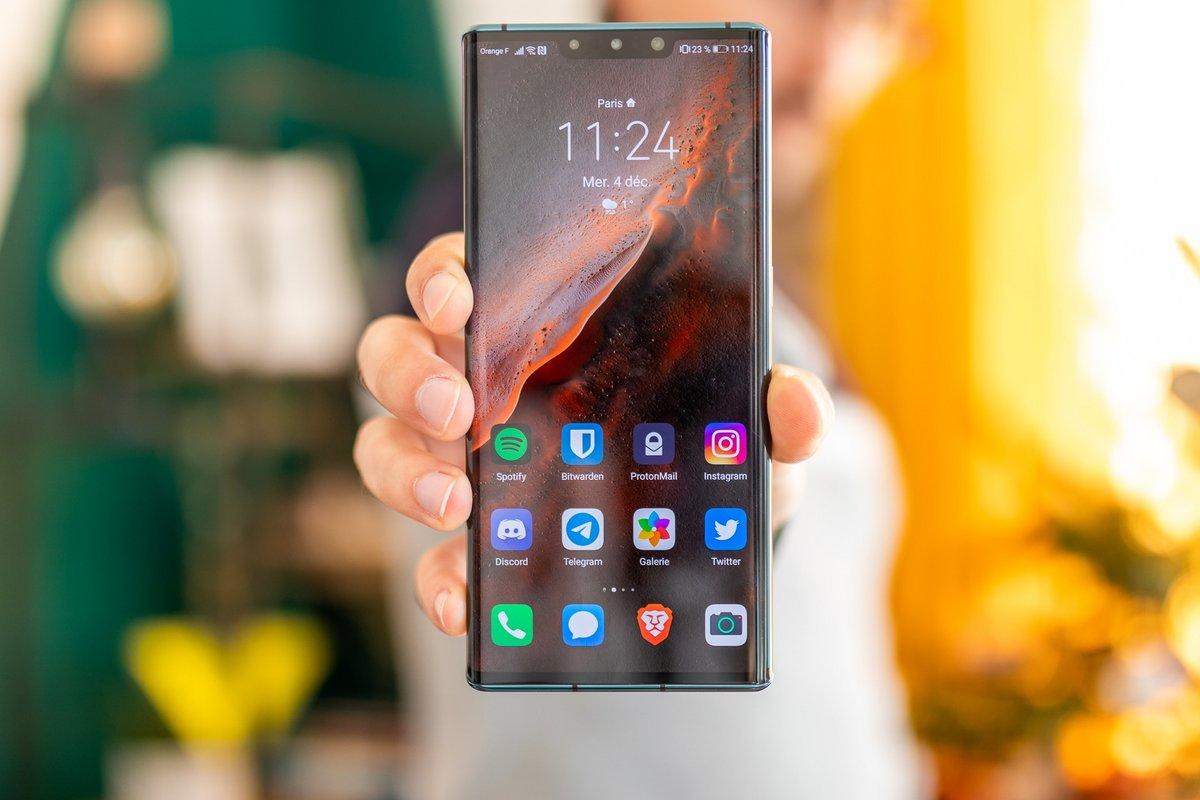 Huawei Mate 30 Pro test