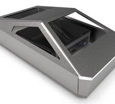 Vous n'en rêviez pas et pourtant, un boitier pour NUC reprend le design du Cybertruck de Tesla