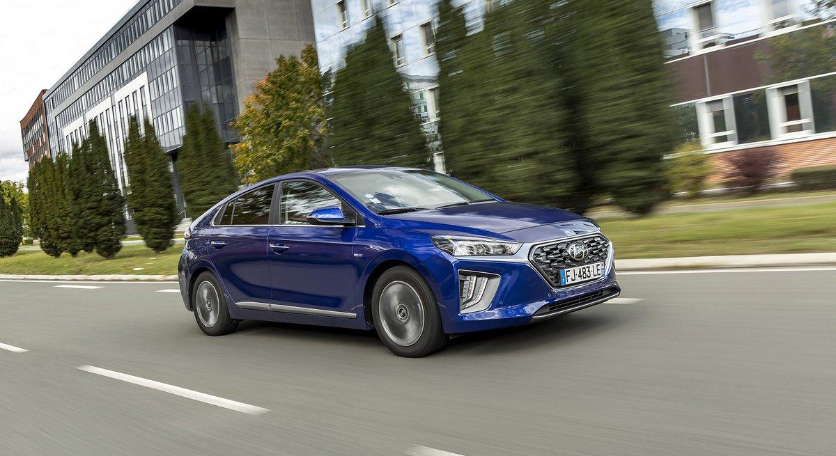 Hyundai Ioniq hybride rechargeable