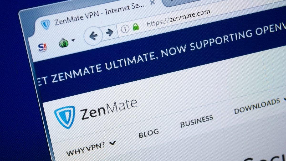ZenMate VPN © Sharaf Maksumov / Shutterstock.com