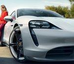 Limitée à 320 km, l'autonomie de la Porsche Taycan Turbo électrique déçoit...