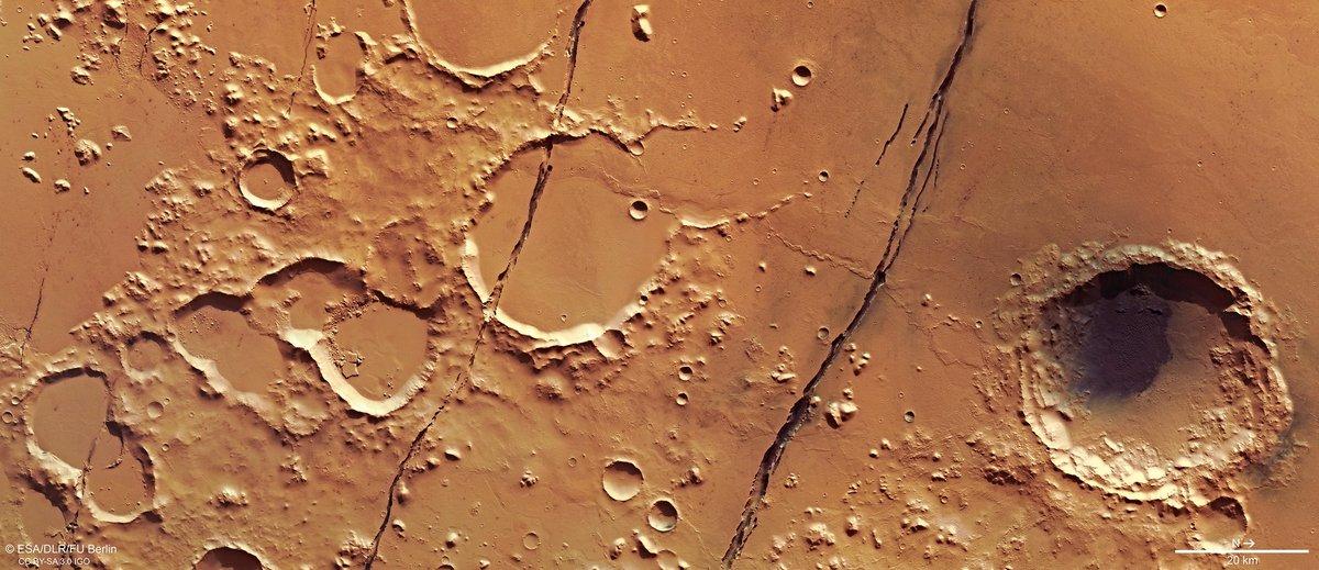 Cerberus Fossae Mars