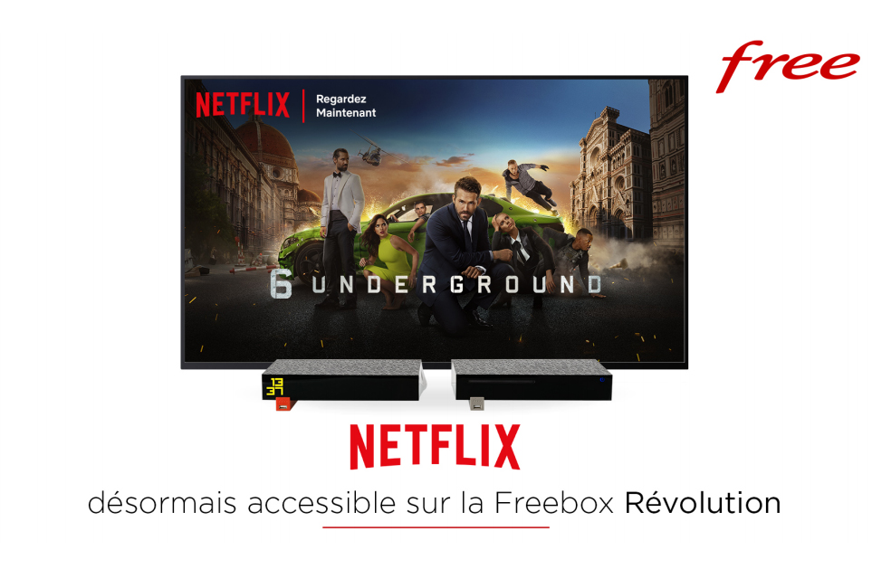 Freebox Revolution Netflix