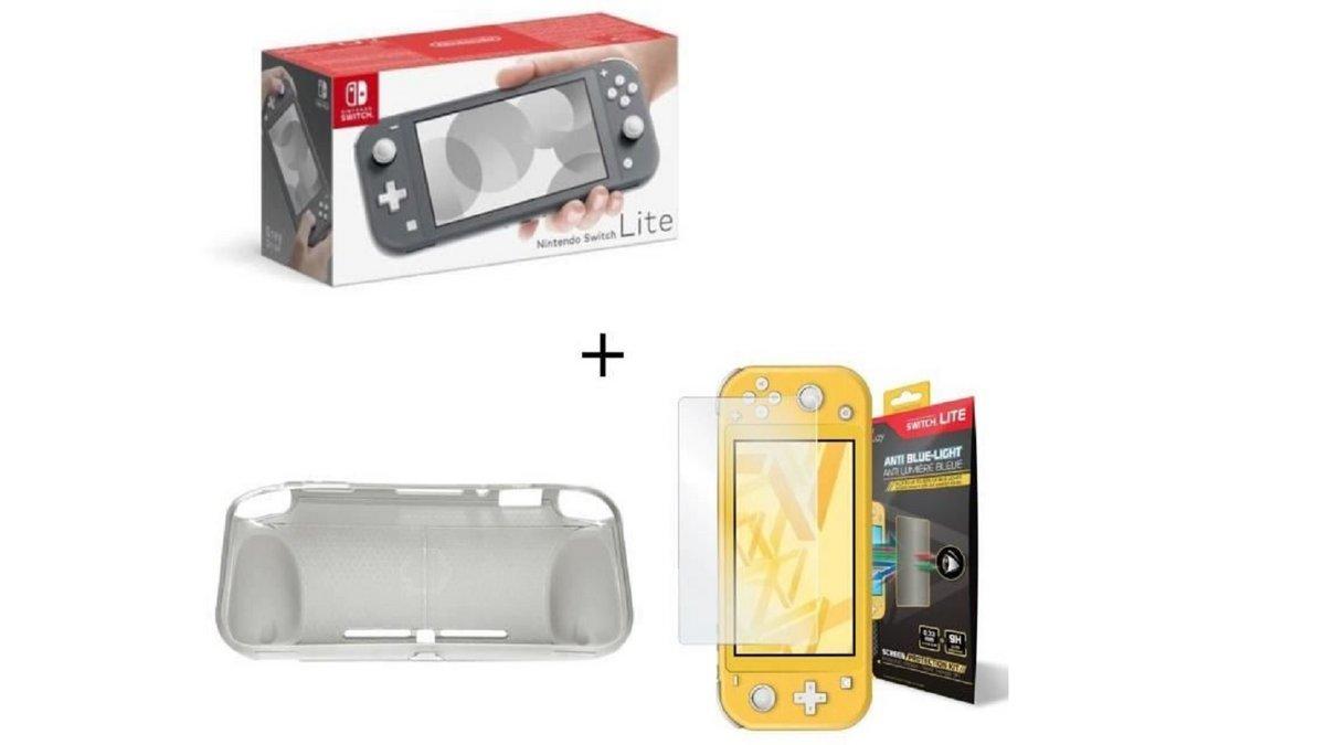 Nintendo Switch Lite avec accesoires