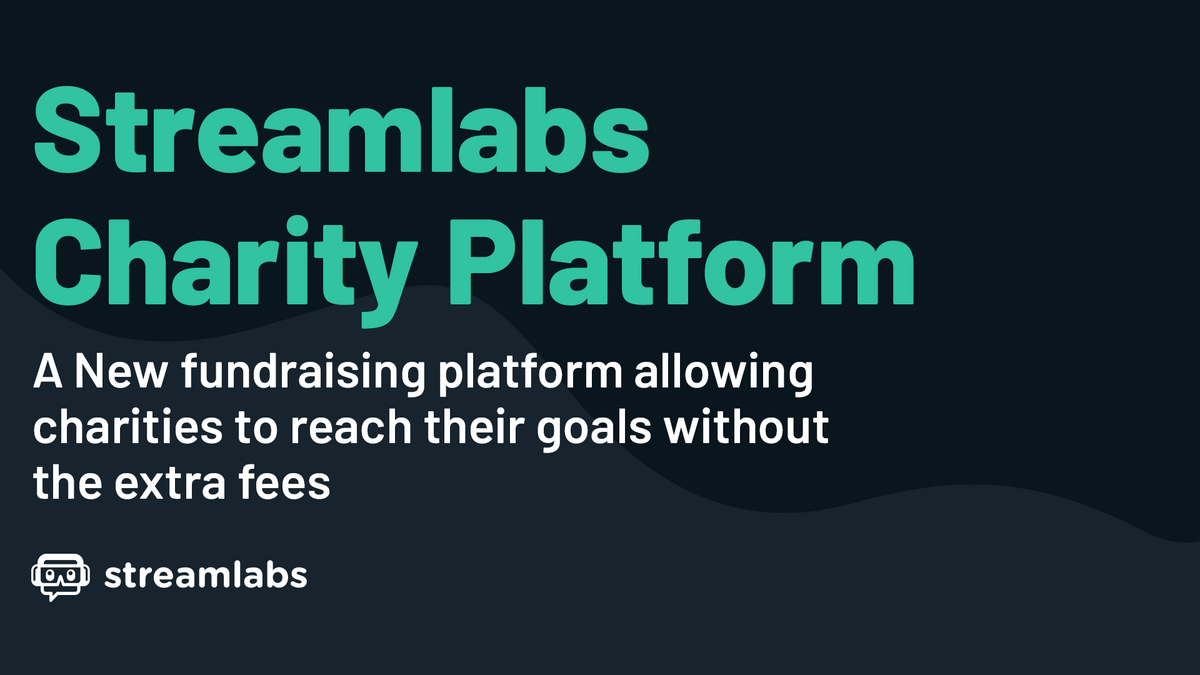 Streamlabs charity platform