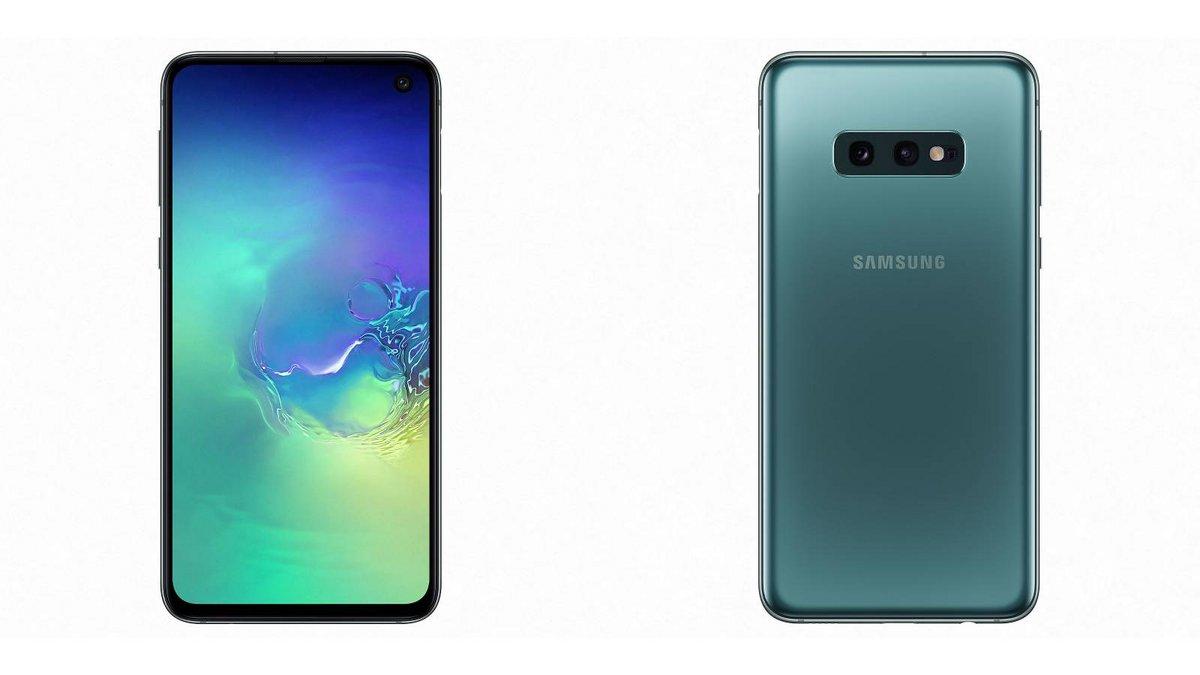 Samsung Galaxy S10e Dual SIM 128 Go Vert prisme.jpg