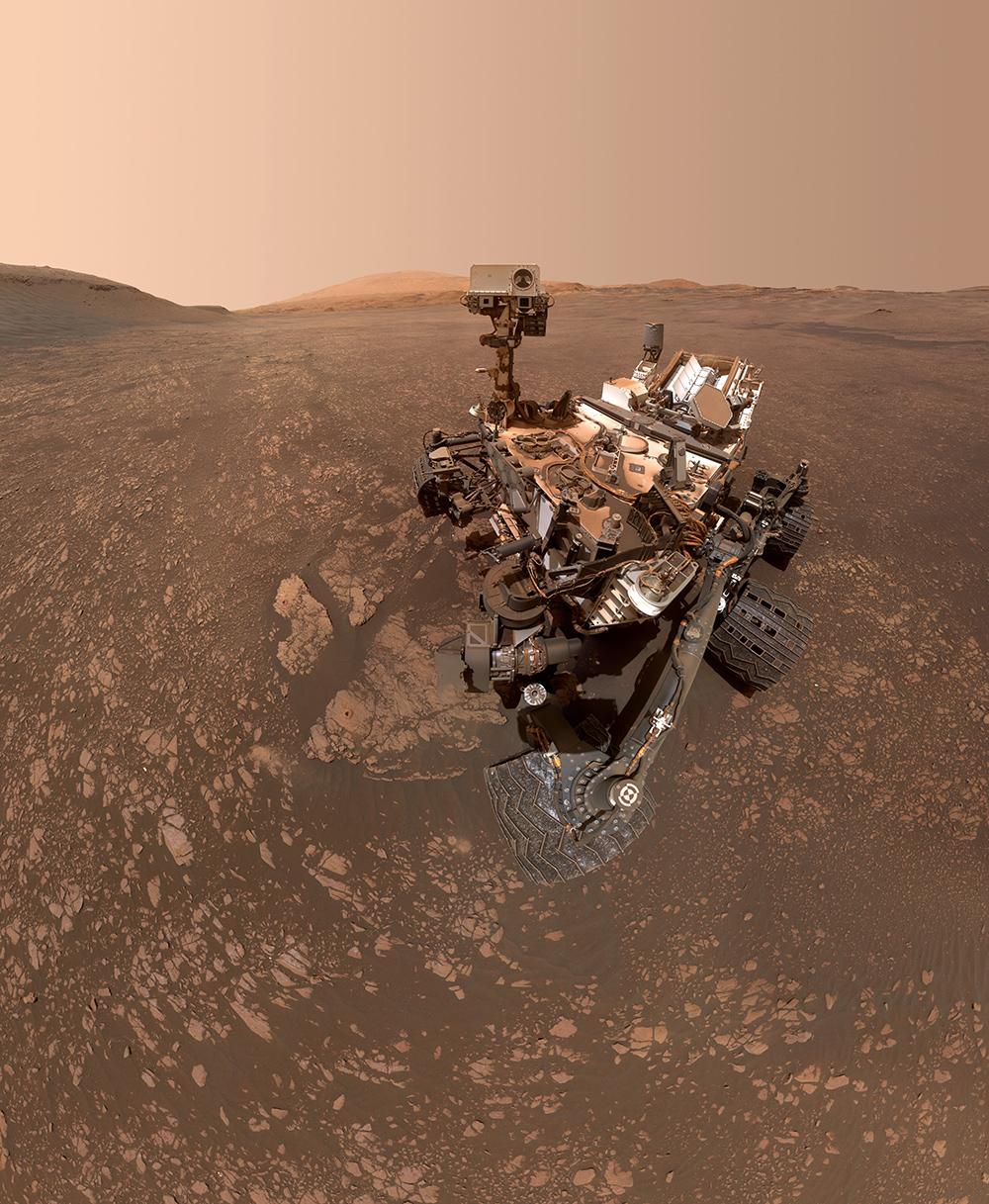 Curiosity selfie 2019 © NASA/JPL-Caltech