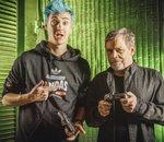 Xbox : quand le streamer Ninja apprend à Mark Hamill à manier la Force (mais dans Fortnite)