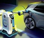 Volkswagen a conçu des bornes de recharge électrique qui se déplacent jusqu'à votre véhicule