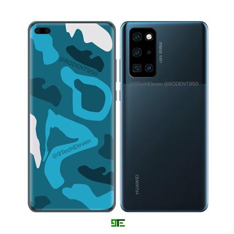 Huawei P40 Pro rendu