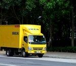 IKEA teste la livraison par camion électrique