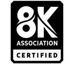 Après les standards HD Ready, Full HD et la 4K, la 8K a déjà son logo de certification