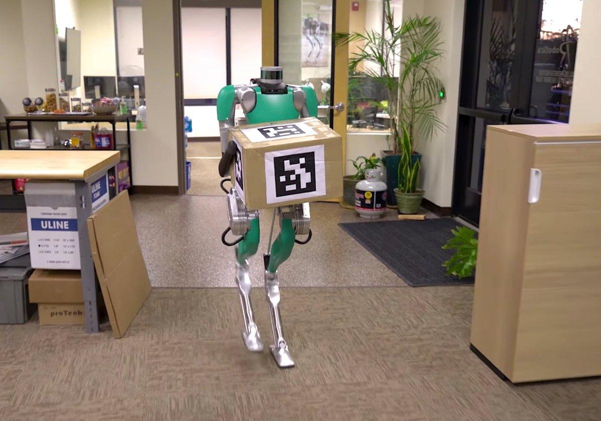 Digit Agility Robotics Robot livreur