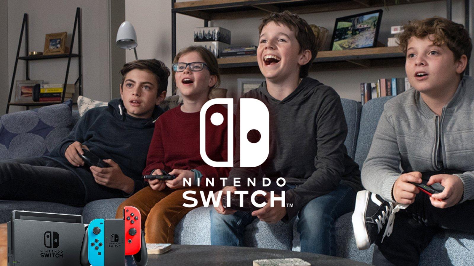 Nintendo Switch : plus de 3,3 millions d'unités en France